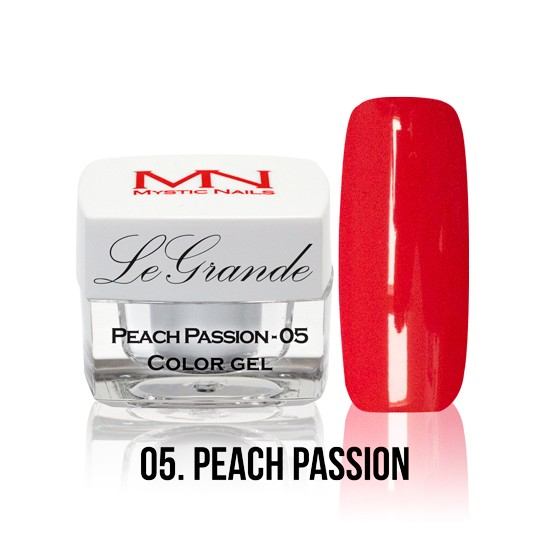 LeGrande Color Gel - no.05. - Peach Passion - 4 g