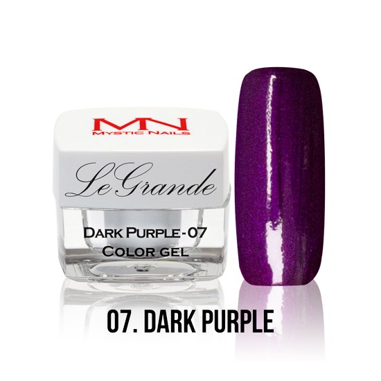 LeGrande Color Gel - no.07. - Dark Purple - 4 g