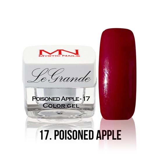 LeGrande Color Gel - no.17. - Poisoned Apple - 4 g