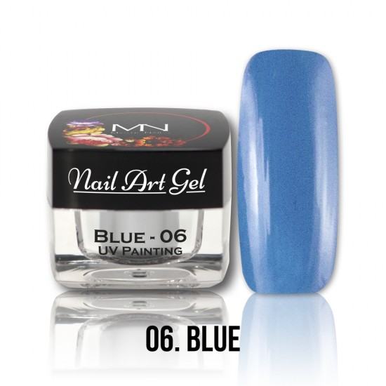 UV Painting Nail Art Gel - 06 - Blue