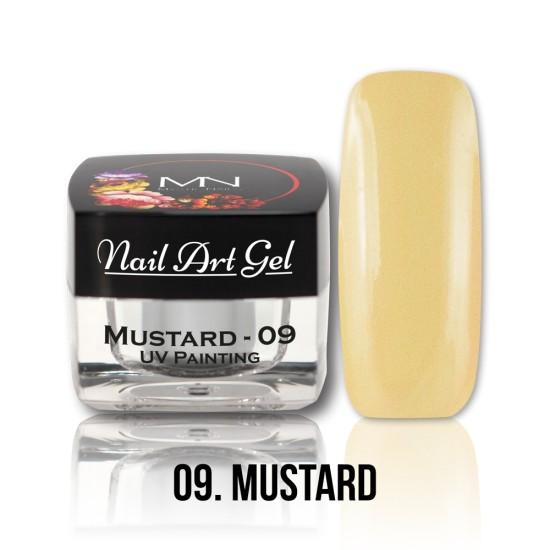 UV Painting Nail Art Gel - 09 - Mustard