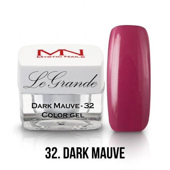 LeGrande Color Gel - no.32. - Dark Mauve - 4 g