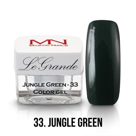 LeGrande Color Gel - no.33. - Jungle Green - 4 g