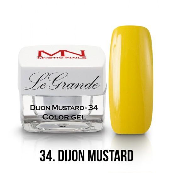 LeGrande Color Gel - no.34. - Dijon Mustard - 4 g